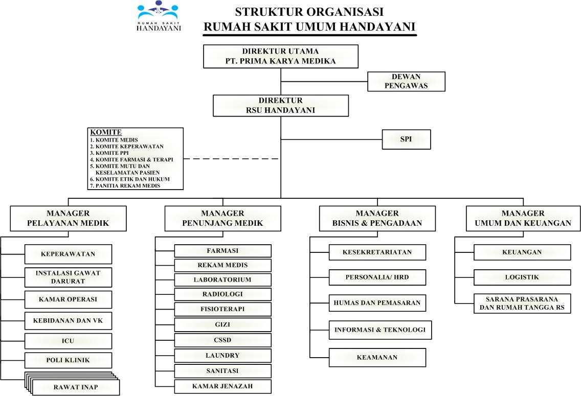 Struktur Organisasi RSU Handayani (1)